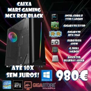 Gigastore Gamer Intel I7 7700 7ª Geração Nvidia RTX 2060 6GB