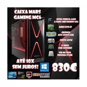 Gigastore Gamer Média Gama Intel I5 6ª Geração Nvidia