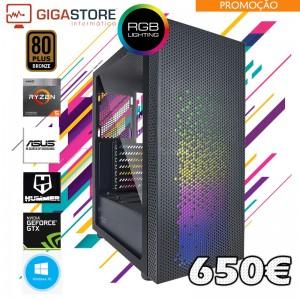 Gigastore Gamer Ryzen 5 2600 3.9Ghz AM4  Ram 8GB Nvidia GTX 1650