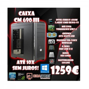 Gigastore Gaming Alta Gama Intel Core i7-6850K