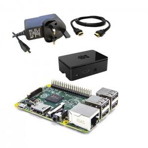Raspberry Pi 2 Pack Carregador, Caixa e cabo Hdmi