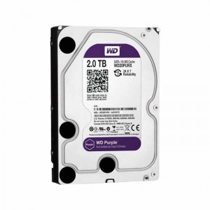 Disco Rígido Western Digital 2TB 3.5 Purple 5400rpm SATA III 64MB