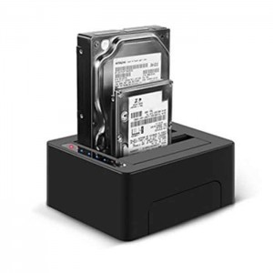 "Docking Station para HDD SATA 2.5"" 3.5"""