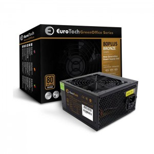Fonte de Alimentação Eurotech Green Office 500W 80 Plus Bronze