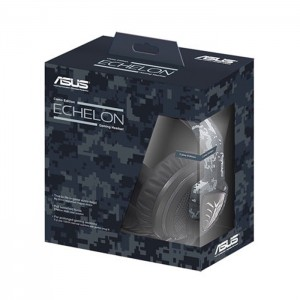 Asus Headset Echelo n Navy Gaming + Gaming Mouse Pad