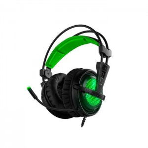 B-Move BG Xonar X6 7.1 Gaming Headset PC/PS4 Black/Green