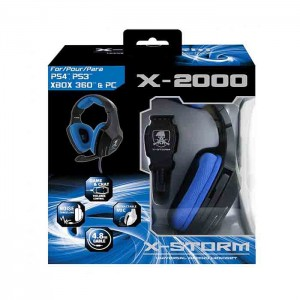 Headset Gaming X-Storm X-2000 PS4/PS3/XB360/PC