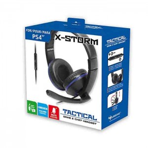 X-STORM - PS4 Tactical Game & Chat Headset