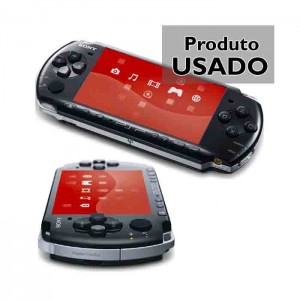 Sony PSP-3004 Piano Black PSP Slim Usado
