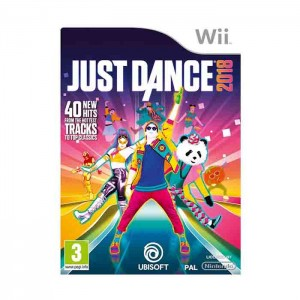 Just Dance 2018 Nintendo Wii