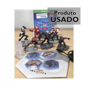 Disney Infinity Marvel Super Heroes 2.0 Edition Pack Usado