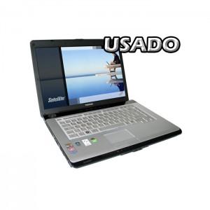 "Portátil Toshiba Satellite A210 15.4"" AMD Athlon X2 TK-57 2GB 500GB USADO (1 ano de garantia)"