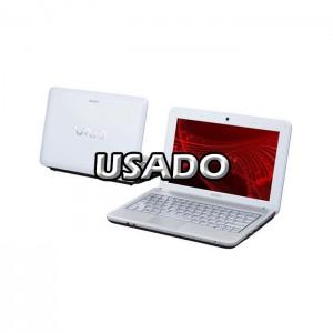 "Portátil Sony VPCM120AB 10.1"" Intel Atom N470 2GB 80GB USADO (1 ano de garantia)"