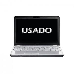 """Portátil Toshiba L500 15.6"""" Intel Dualcore T4200 4GB 500GB USADO"""