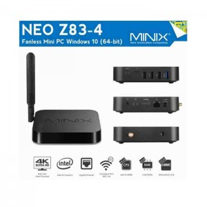 MiniX Neo Z83-4 Plus Intel X5-Z8350 4GB 32GB eMMC Windows 10 Pro