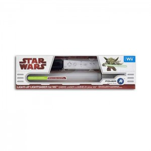 Star Wars Light-Up Lightsaber - Yoda (NINTENDO WII)