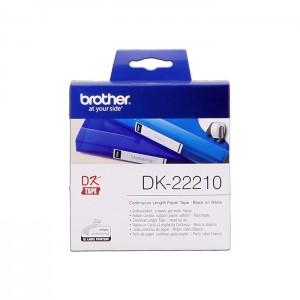 Rolo de Etiquetas Brother DK-22210 para Impressora