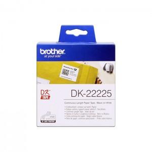 Rolo de Etiquetas Brother DK-22225 para Impressora