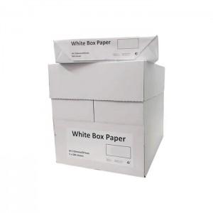 Caixa de Papel White Box A4 5x500 Folhas