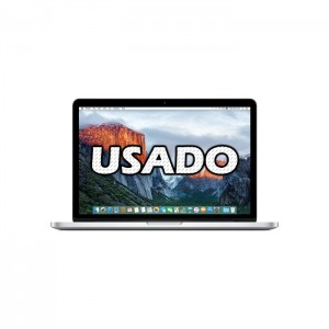 "Macbook Pro A1502 13"" Intel i5 8GB 128GB + 128GB USADO (1 ano de garantia)"