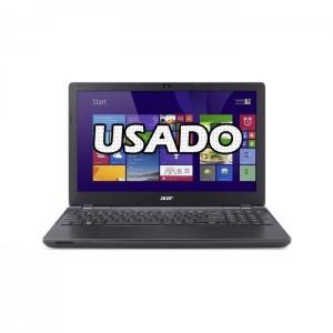 "Portátil Acer Aspire E5-521 15.6"" AMD E2-6110 4GB 120GB SSD USADO"