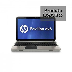 "HP DV6-6C40EP Ecrã 15.6"" Core i7 Ram 8GB Radeon HD6700 Disco SSD 256GB Webcam Usado 1 Ano de Garantia"