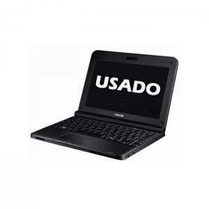 """Netbook Toshiba NB250 10.1"""" Intel Atom N455 2GB 120GB SSD USADO"""