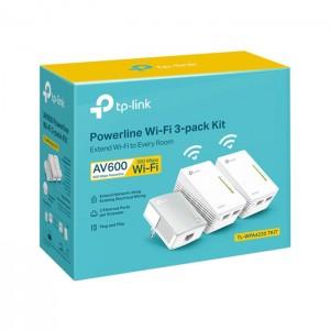 Powerline Wi-Fi 3-Pack Kit TP-Link TL-WPA4220 AV600 300Mbps
