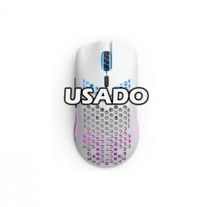Rato Óptico Glorious PC Gaming Race Model O Wireless 19000DPI White USADO