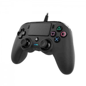 Nacon Wired Compact Controller Black (Comando C/Fios Ps4)