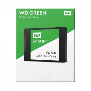 Disco Ssd Western Digital 120GB Green 2.5 SSD SATA III