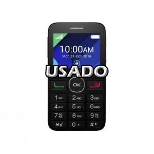 Alcatel 2008G Black USADO (com carregador)
