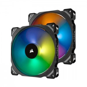 Corsair 2x 140mm ML140 Pro RGB LED PWM + Lighting Node PRO