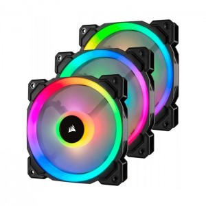 Corsair 3x 120mm LL120 Dual Light Loop RGB LED PWM + Lighting Node PRO