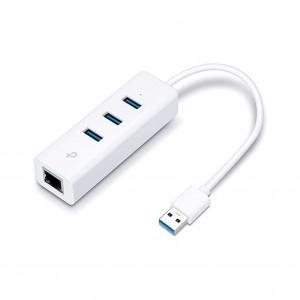 Adaptador de Rede TP-Link UE330 USB 3.0 para Ethernet Gigabit