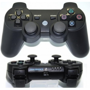 Comando PS3 Dual Shock 3 Sixaxis Preto Bluetooth